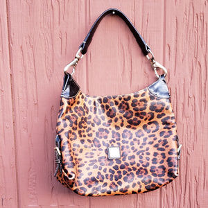Dooney & Bourke Leopard print purse